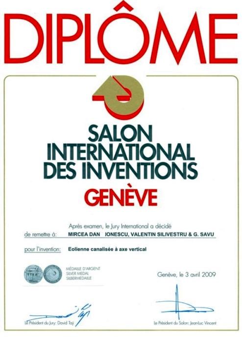 Comoti institutul national de cercetare dezvoltare - Salon des inventions ...